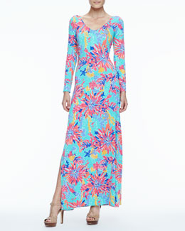 Lilly Pulitzer Lauren Printed Maxi Dress