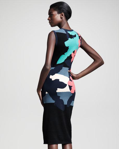 Tropical Intarsia Dress