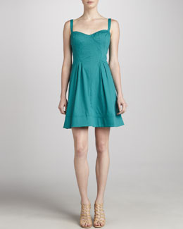 ZAC Zac Posen Sweetheart Party Dress
