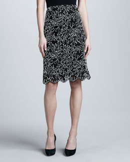 Michael Kors Soutache Skirt