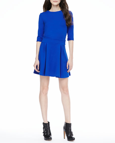 Staci Fit-and-Flare Dress