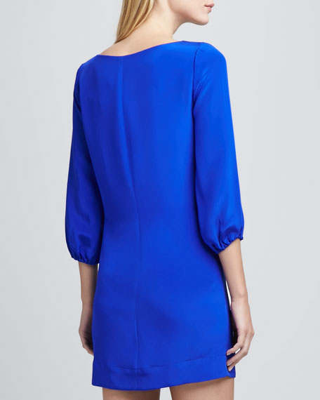 Kim 3/4-Sleeve Shift Dress