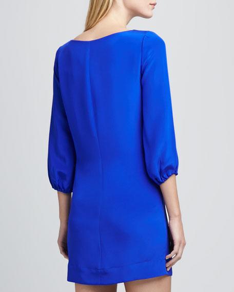 Kim 3/4-Sleeve Shift Dress