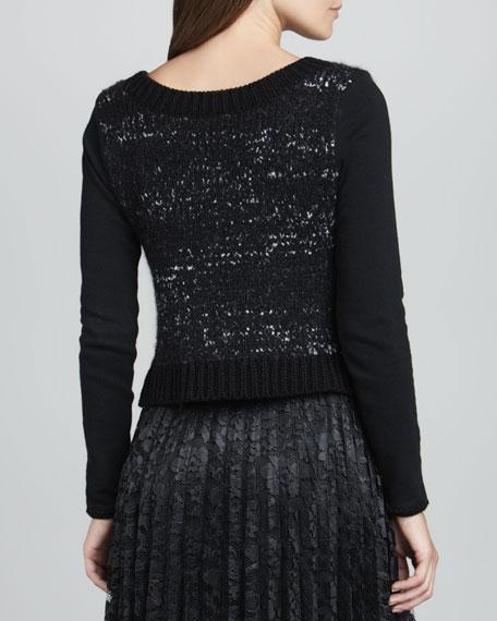 Magic Rose Knit Pullover