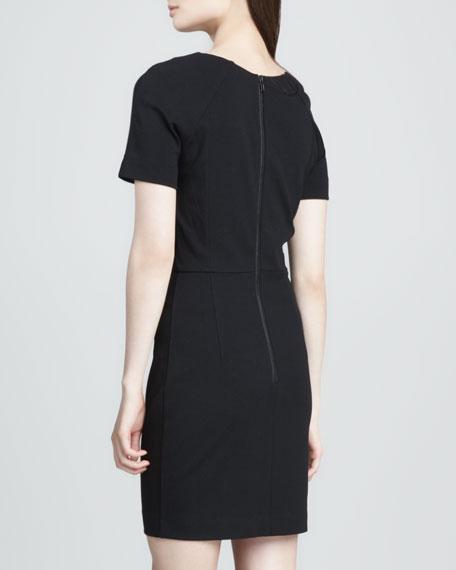 Olivia Print-Center Dress