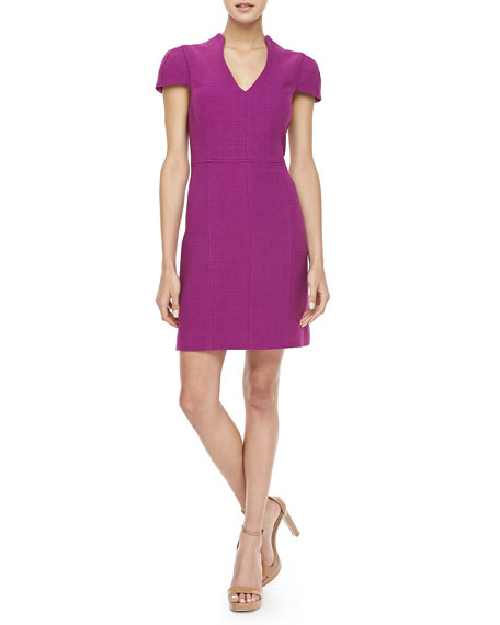 Concord Basketweave Knit Dress