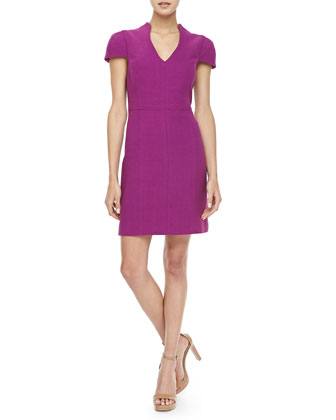 Concord Basketweave Knit Dress