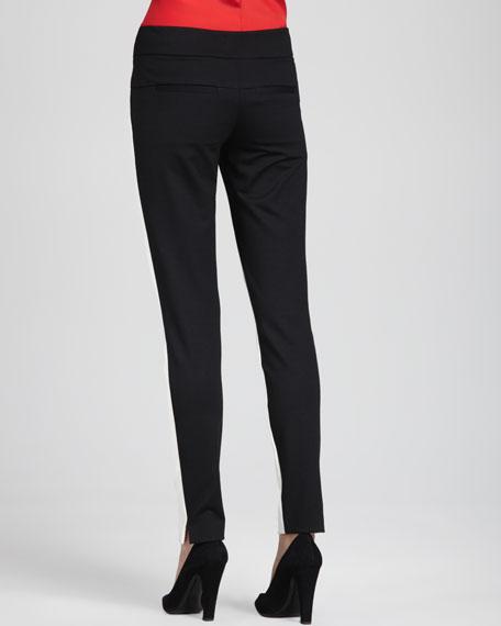 Kellan Positive/Negative Ponte Pants