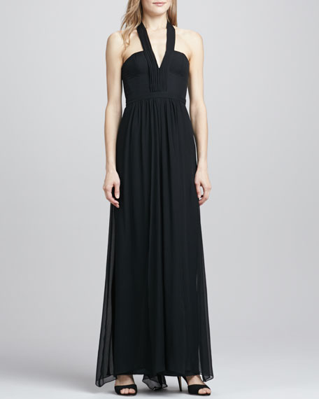 Starr V-Neck Sleeveless Gown