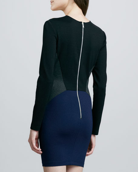 Ivy Colorblock Ponte Dress