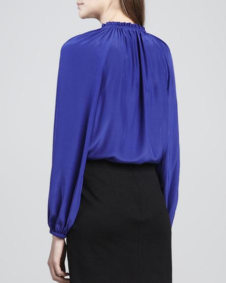 Greta Long-Sleeve Blouse