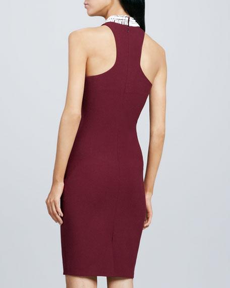 Jade Bead-Neck Dress