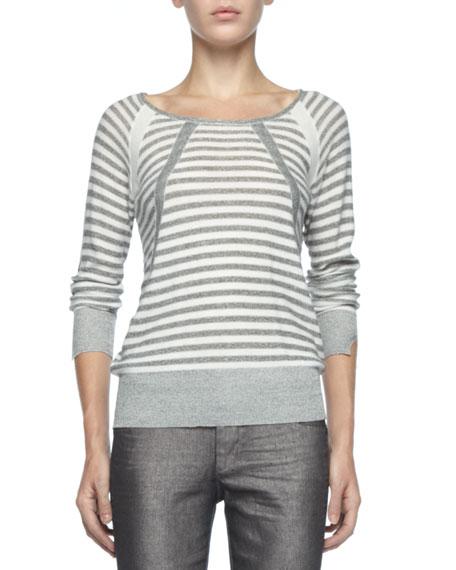 Jed Striped Knit Sweater