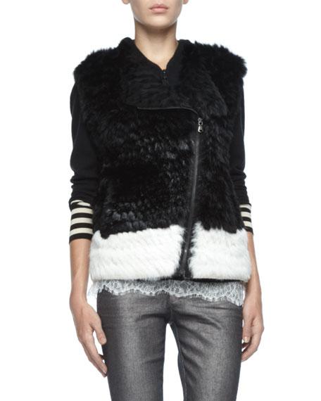 Jacq Rabbit Zip Vest