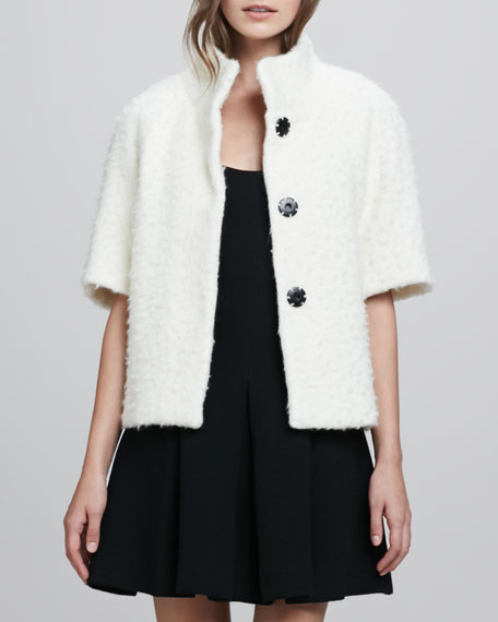 Short-Sleeve Wool Jacket