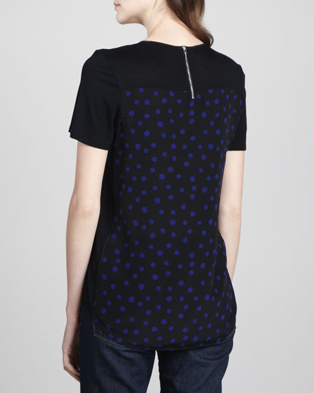 Dotted Short-Sleeve Tee