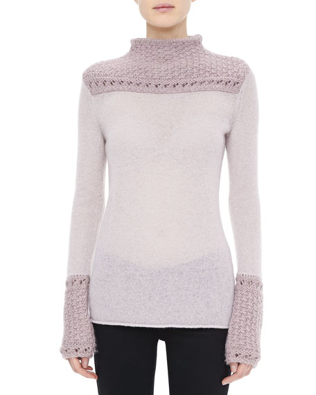 Marnie Texture-Detail Sweater