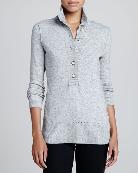 Giselle Rib-Trim Sweater