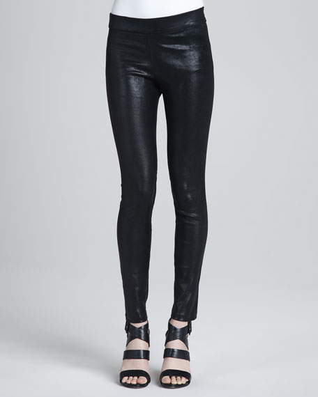 Stretch Suede Legging