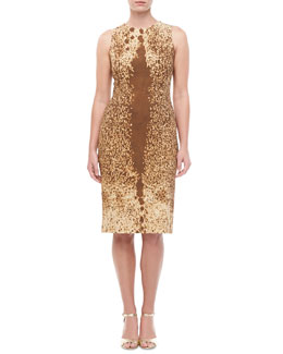 Michael Kors Pony Cady Sheath Dress