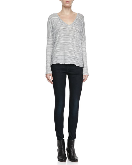 Olive Harrow Skinny Jeans