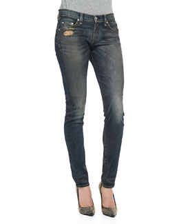 rag & bone/JEAN Arsenal Distressed Skinny Jeans