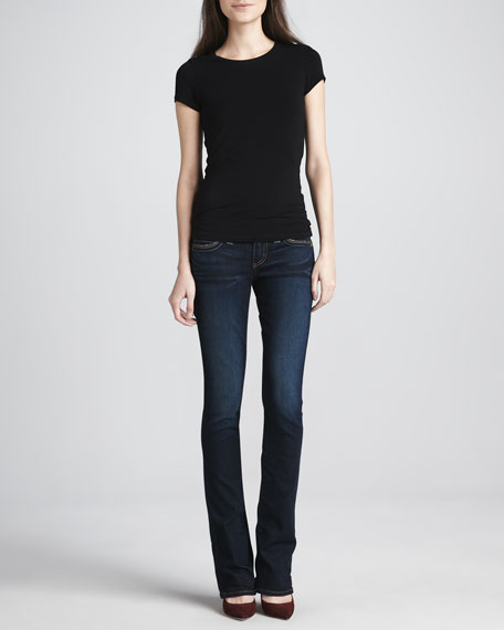 Lexy Mini Boot-Cut Jeans