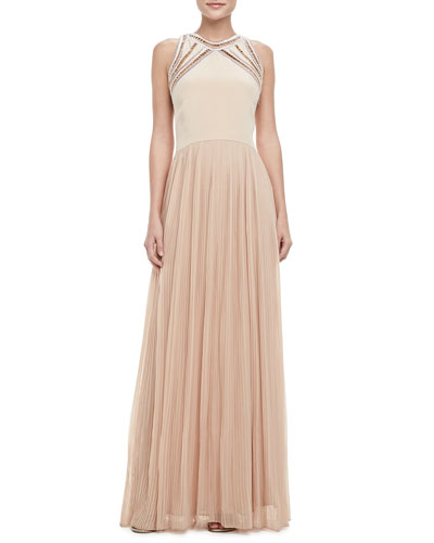 Rebecca Taylor Georgette Sleeveless Gown