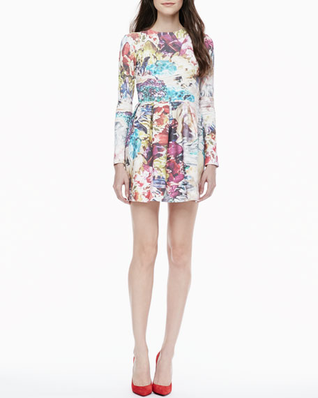 Take a Change Floral Dress