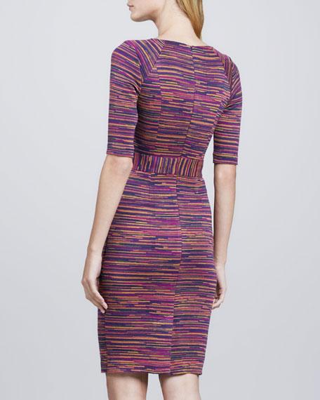 Monarch Printed Knit Dress