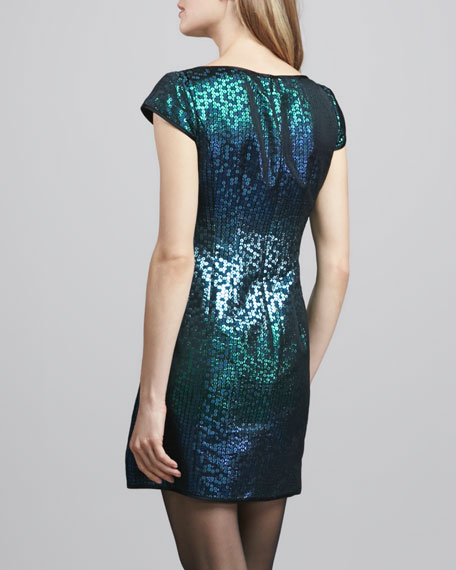 Cabaret Sequined Fitted Dress