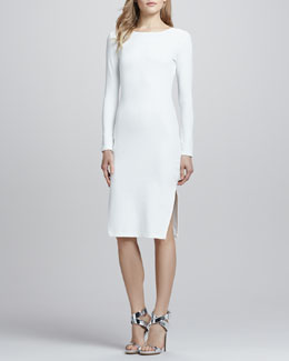 Talulah Dreamy Days Long-Sleeve Dress, White
