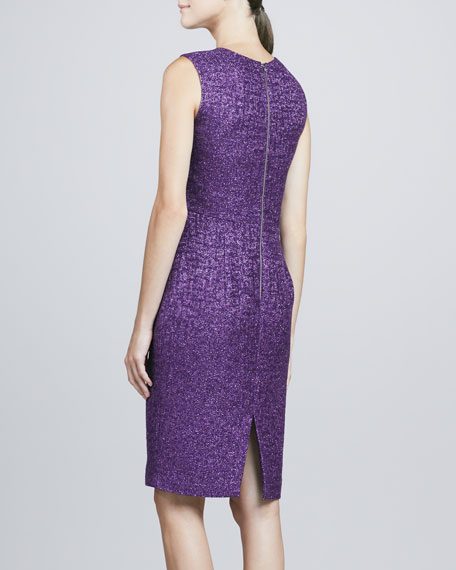 Sleeveless Sheath Cocktail Dress