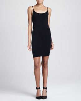 Cusp by Neiman Marcus Sleeveless Fitted Core Tunic