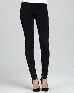 Cusp by Neiman Marcus Luxe Leggings, Black