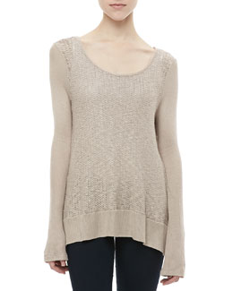 Splendid Las Palmas Loose Knit Sweater