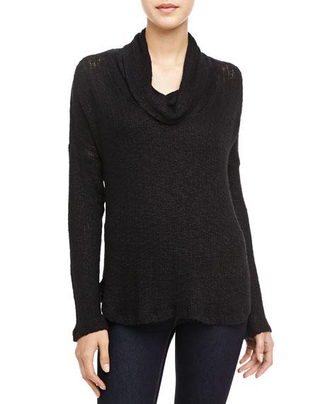 Las Palmas Cowl-Neck Sweater