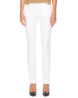 MICHAEL Michael Kors Slim Hardware Pants