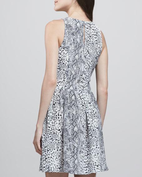 Bernadine Leopard-Print Dress