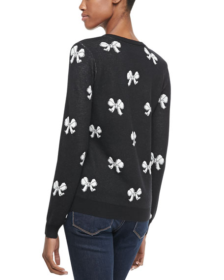 Valera Bow-Pattern Sweater