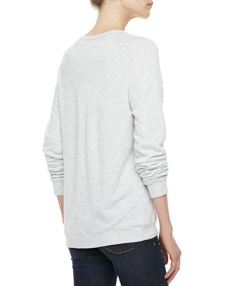 Annora Cheetah-Graphic Sweater
