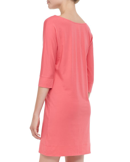 Eliza Jersey V-Neck Dress