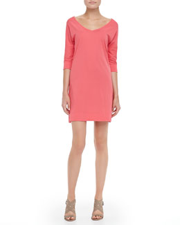 Lilly Pulitzer Eliza Jersey V-Neck Dress