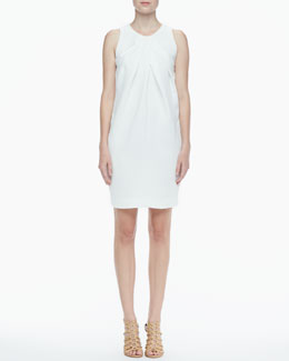 L'Agence Draped Sleeveless Dress
