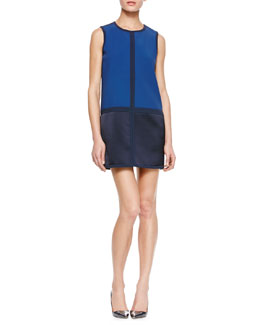 Rag & Bone Margot Colorblock Shift Dress