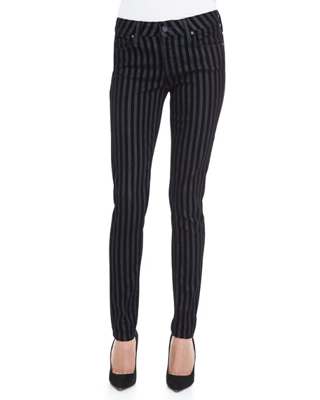 Verdugo Striped Skinny Jeans