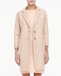 kate spade new york renata long tweed coat