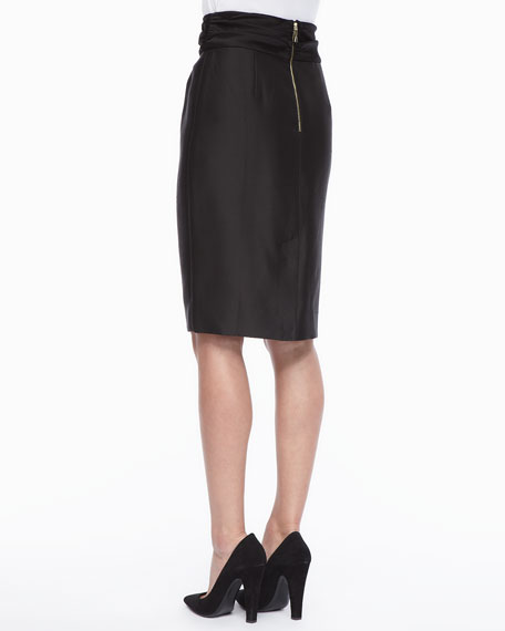 niko high-waisted pencil skirt