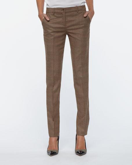 Manchester Plaid Skinny Pants