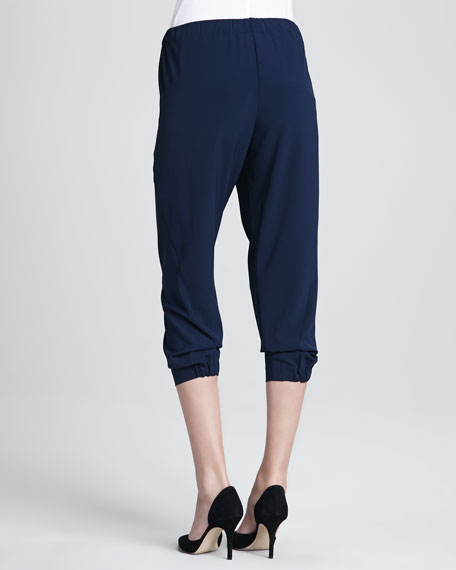 Jersey Cropped Pants
